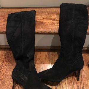 Aquatalia Womens black boots sz 6.5 new